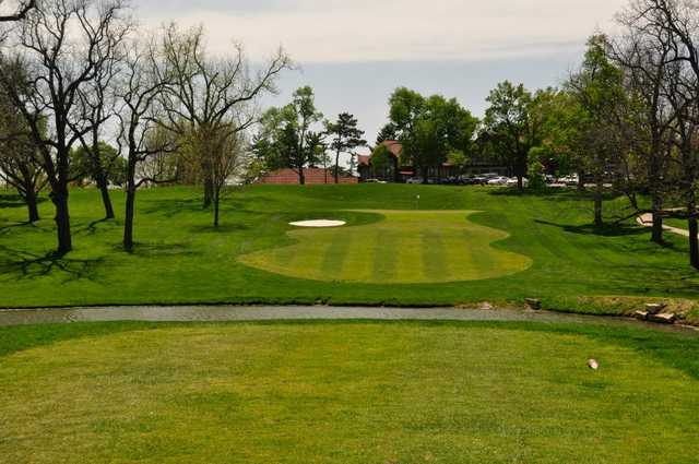 A view from a tee at St. Joseph Country Club