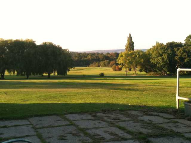 A view from High Beech Golf Course