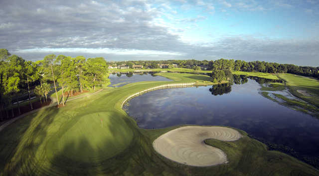Aerial view from #2 at Timacuan Golf Club