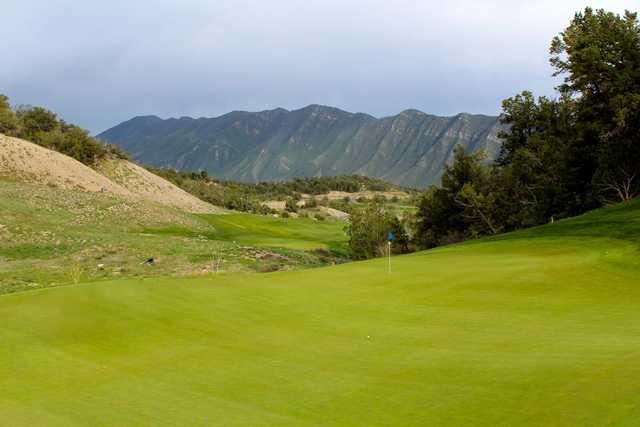 A view of hole #3 at Lakota Canyon Ranch Golf Club