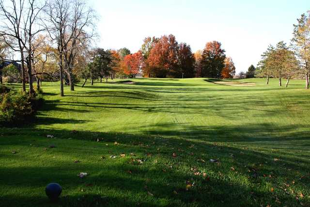 A superb fall day view from Battle Ground Golf Club