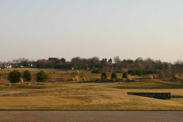 A view from Rolling Meadows Golf Course