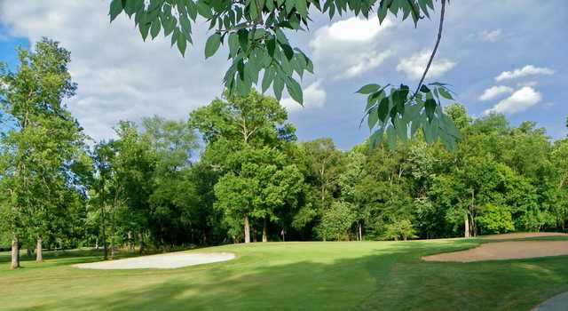 A view of hole #16 at Algonkian Golf Course