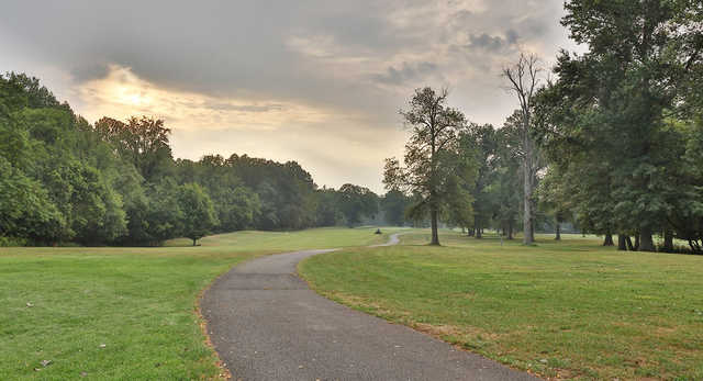 A view from Algonkian Golf Course