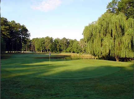 A view of hole #5 at Cardinal from Newport News Golf Club