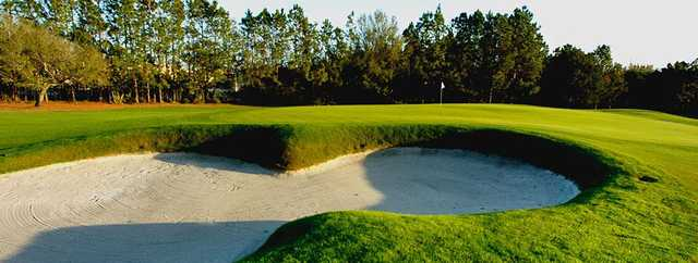 A view of a hole at Carrollwood Country Club.