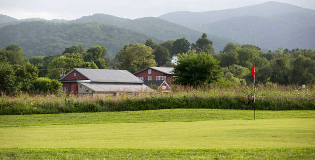 A view of a green at The Schoolhouse Nine