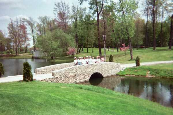 A spring day view from Ohio Prestwick Country Club