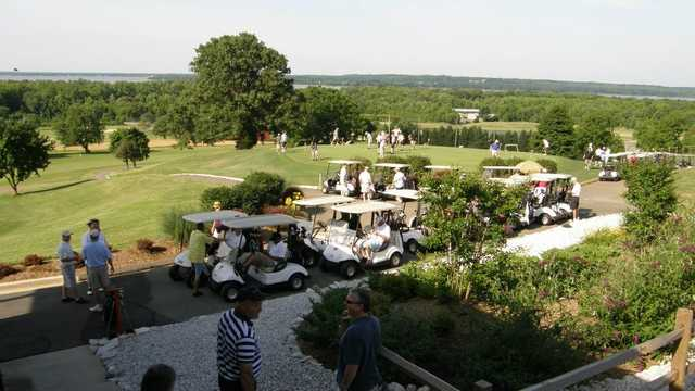 A view from Wicomico Shores Golf Course
