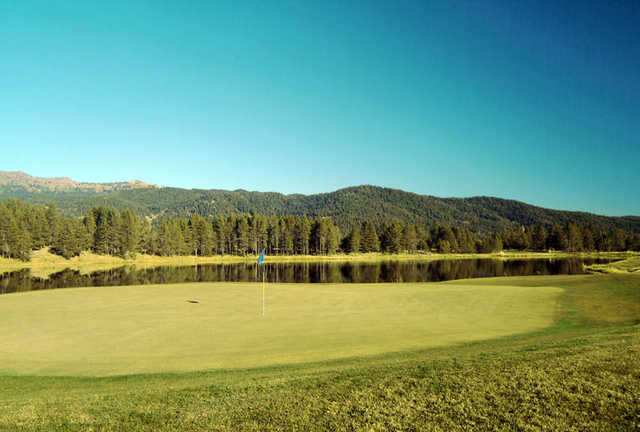 View from Jug Mountain Ranch Golf Course