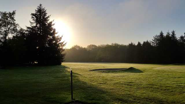 View of the 7th hole at Honiton Golf Club