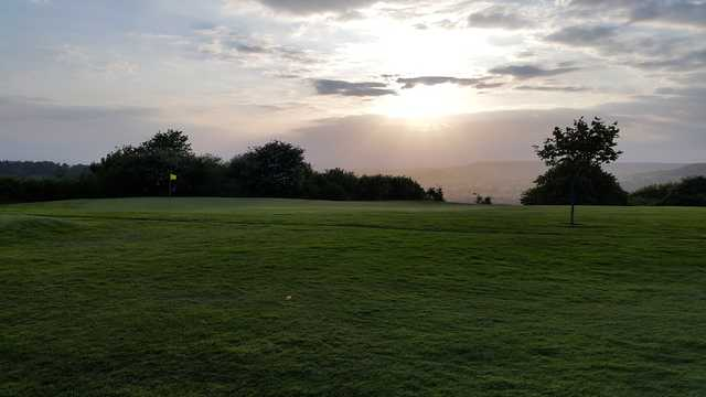 View of the 9th hole at Honiton Golf Club