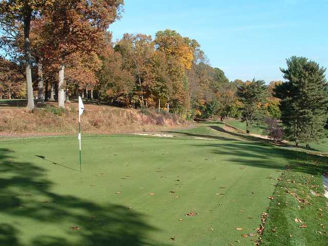 A splendid fall day view from Philmont Country Club