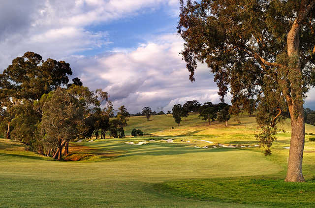 A sunny day view from Heritage Golf & Country Club