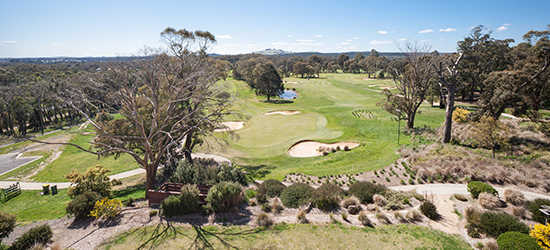 A view from RACV Goldfields Resort