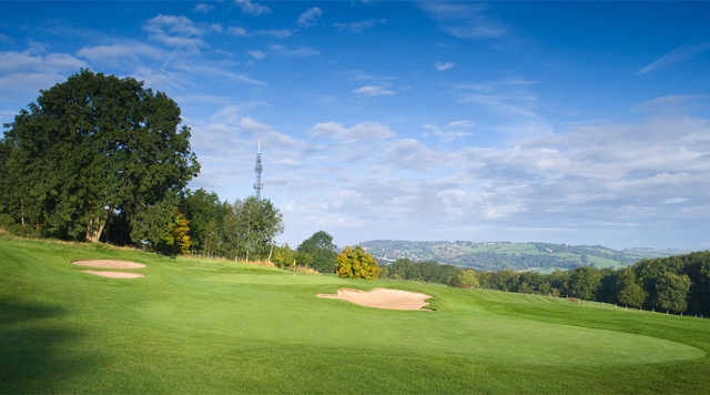A view of green #4 at Bath Golf Club