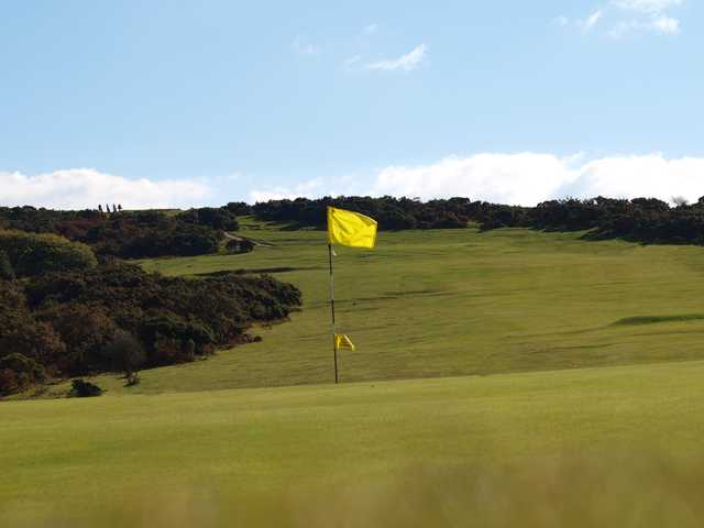 A view of the 3rd hole at Clyne Golf Club