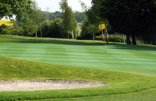 A view of green #3 at Leamington & County Golf Club