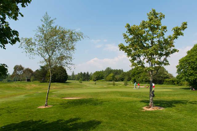 A view of a green at Radyr Golf Club