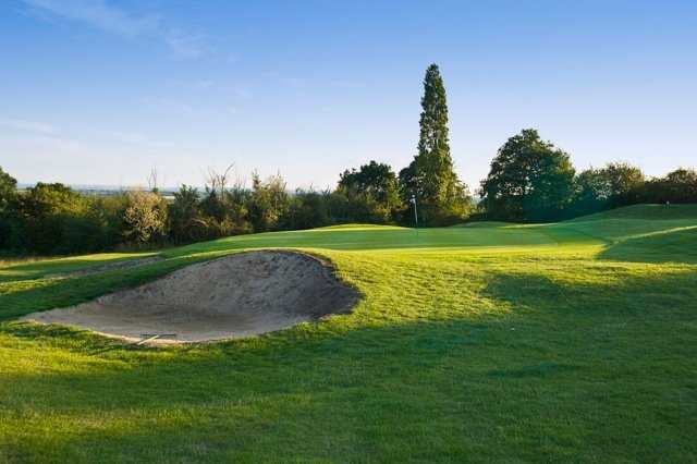 View of the 12th green from the Warley Park Course at Warley Park Golf Club