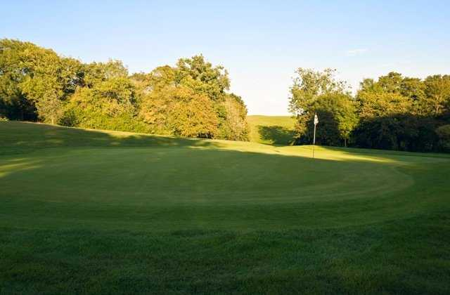 View of the 15th green from the Warley Park Course at Warley Park Golf Club