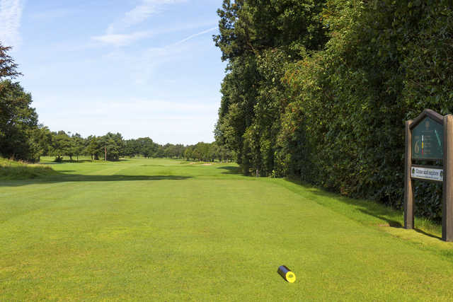 A view from the 6th tee at Ringway Golf Club.