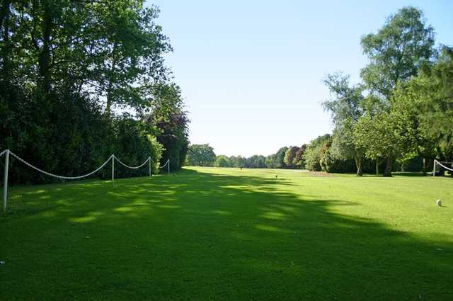A view from tee #1 at Robin Hood Golf Club