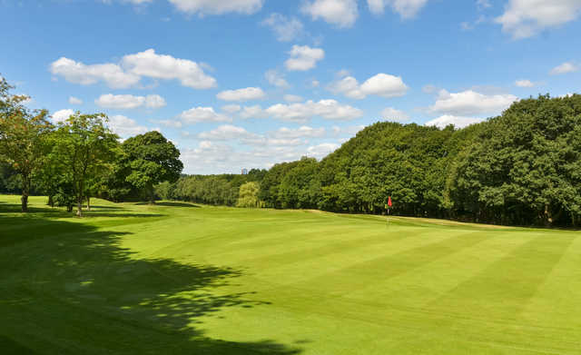 A view of hole #3 at Sandwell Park Golf Club