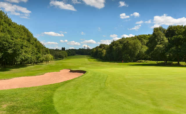 A view of hole #6 at Sandwell Park Golf Club