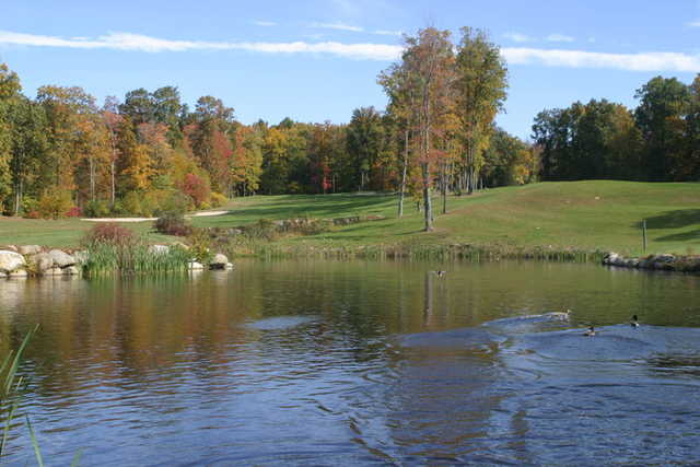 A view over the water from Blackledge Country Club