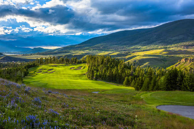 River Course at Keystone: View from no. 18
