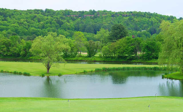 A view from Quechee Club