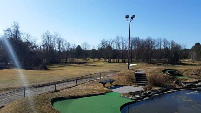 A view from Ponemah Green Family Golf Center