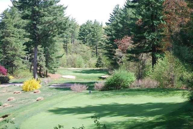 A view of a green at Shaker Farms Country Club