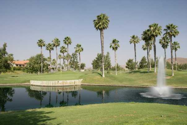 A view from Menifee Lakes Country Club