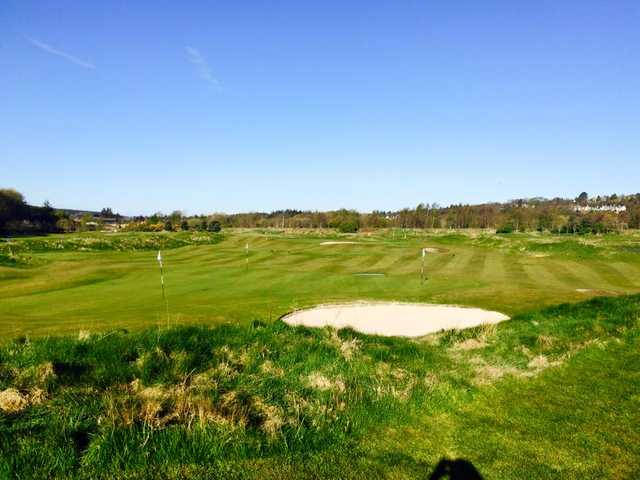 A view from Paul Lawrie Golf Centre