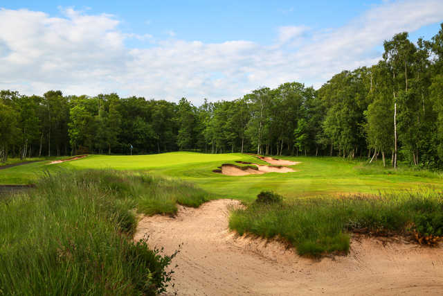 No. 3 is the signature hole from the Duke's Golf Course