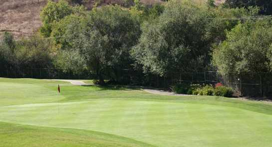 A view of hole #3 at Spring Valley Golf Course
