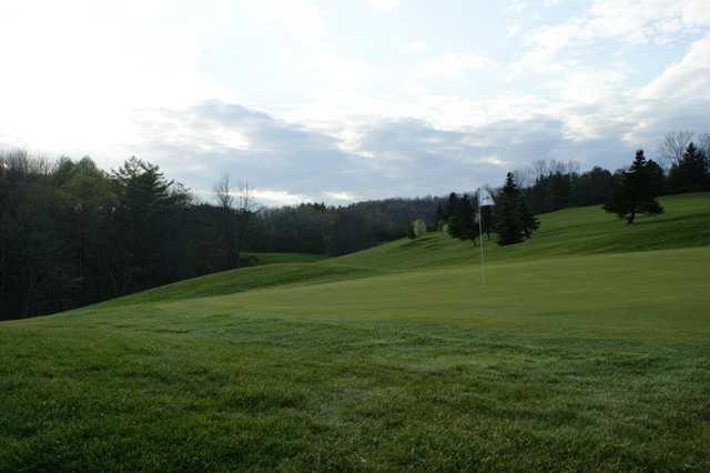 A view of a green at Endwell Greens Golf Club
