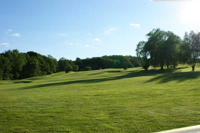 A sunny day view from Endwell Greens Golf Club
