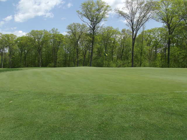 A view of hole #8 from Oxford Greens Golf Club