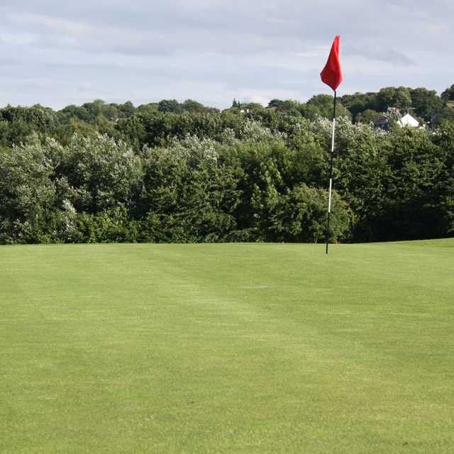 A view of the 5th hole at Express Golf Centre