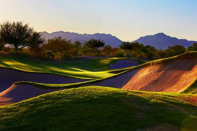 A sunny day view from Faldo at Wildfire Golf Club at Desert Ridge Resort