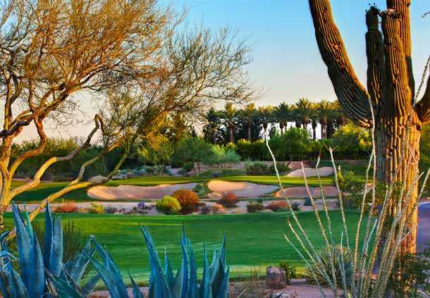 A view from Wildfire Golf Club at Desert Ridge