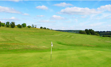 A view of a hole at Lullingstone Park Golf Course