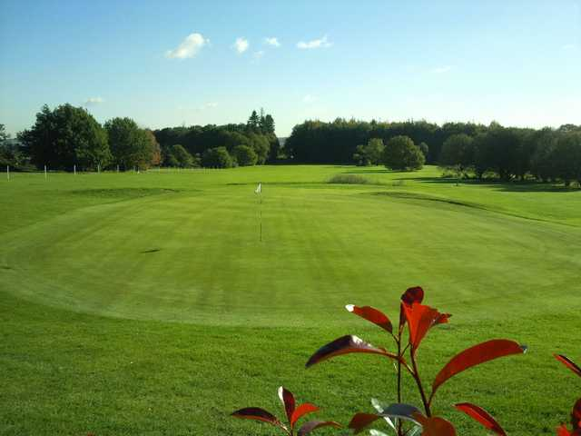 A view of a green at Lullingstone Park Golf Course
