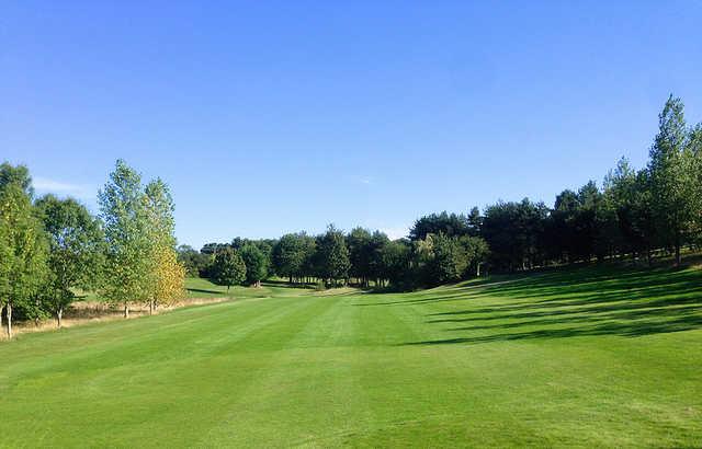 A view of a fairway at Corinthian Sports Club