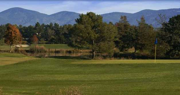 A view of the 4th green at  Kennedy Park - Napa Golf Course