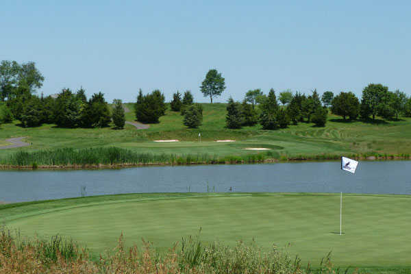 A view of a hole at Neshanic Valley Golf Course