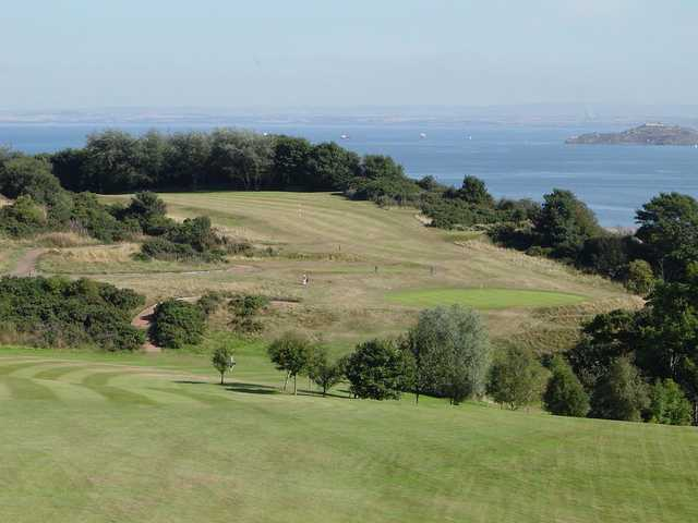 A view from Burntisland Golf Club